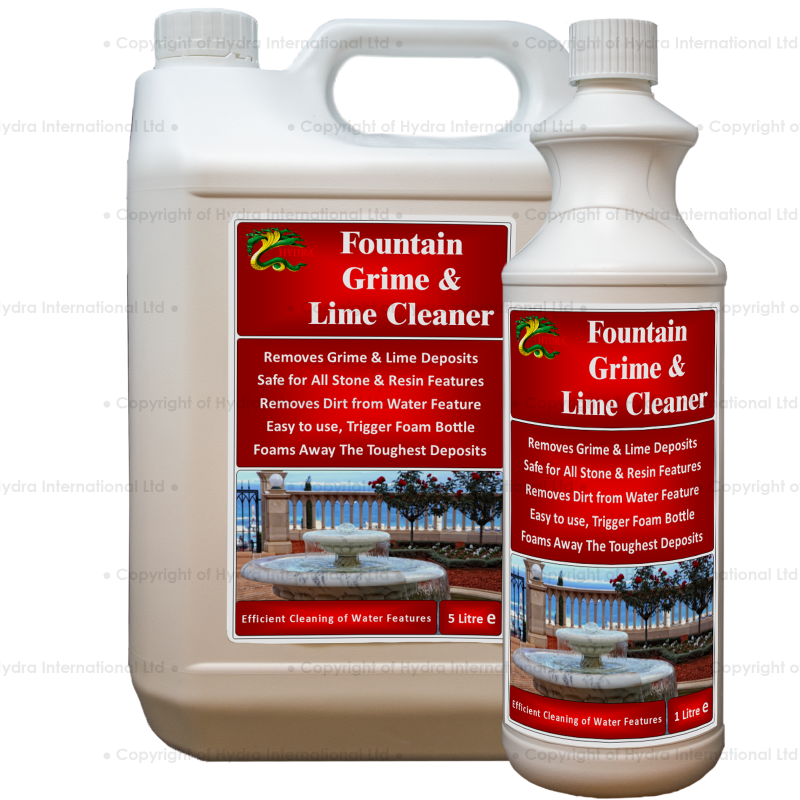 Hydra Fountain Grime and Lime Foam Cleaner