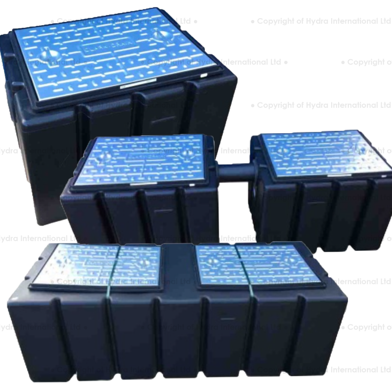 Hydra Grease Trap GT150L, GT300L, GT450L  (Robust, Non-Rusting, Long Lasting Polyethylene)