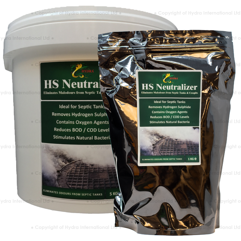 Hydra HS Neutralizer (Septic Tank Smell Remover)
