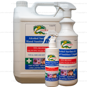 Hydra Alcohol Surface & Hand Sanitiser Liquid